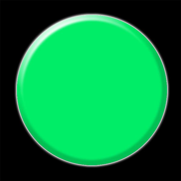 Nail Artist International Pure Color Powder Neon Green N5